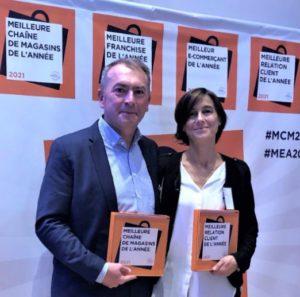 Hervé Jouves, Président de Lafayette Conseil et Caroline Lapointe, Directrice Marketing, Communication et Digital.
