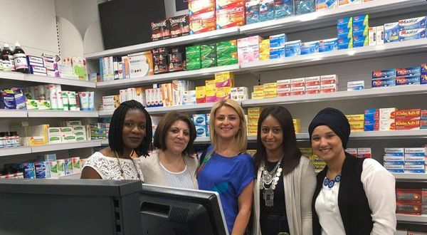 Inauguration d'une Pharmacie Pharmavance à Stains