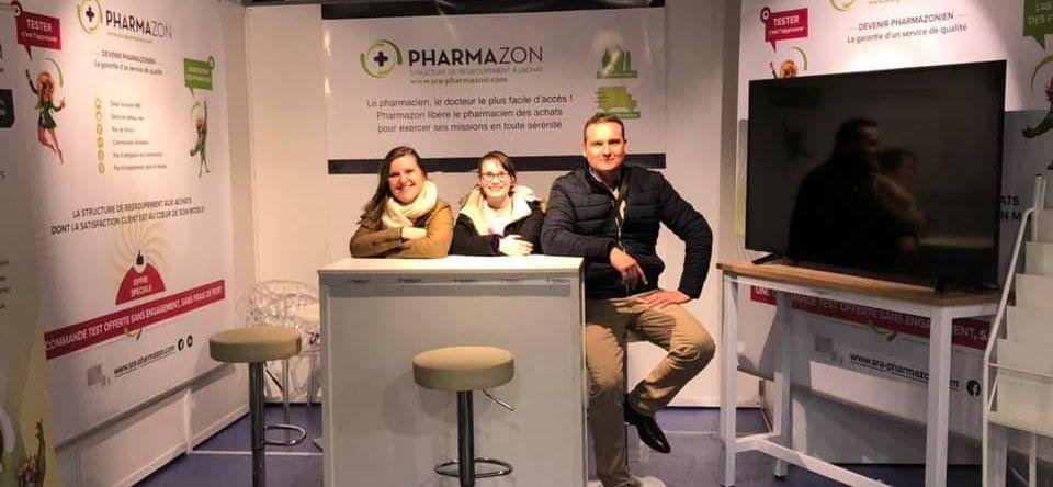 Salon des rencontres de l'officine à Paris avec l'équipe Pharmazon - Février 2020